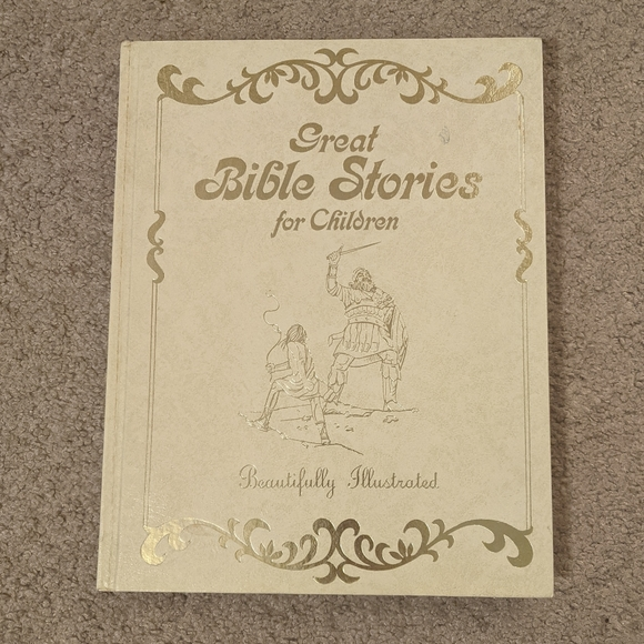 Illustrated Great Bible Stories for Children 1975